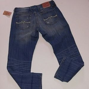 NWT Lucky Golden State Crop Jeans 6/28